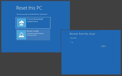 »Cloud download«, drugič