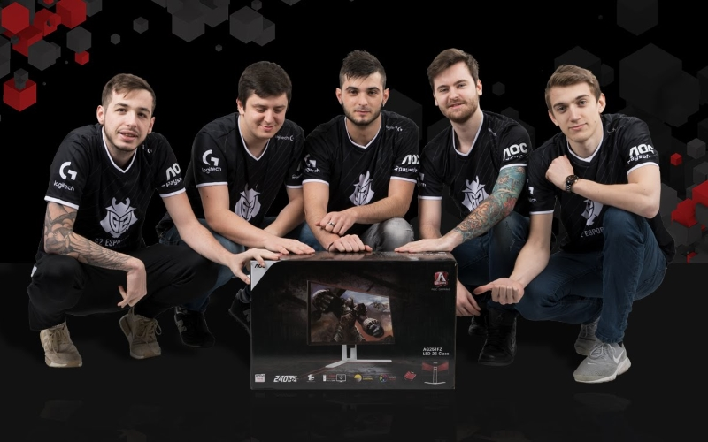 AOC, eŠport in partnerstvo z G2 Esports