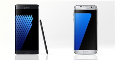 Galaxy Note 7 proti Galaxy S7 edge